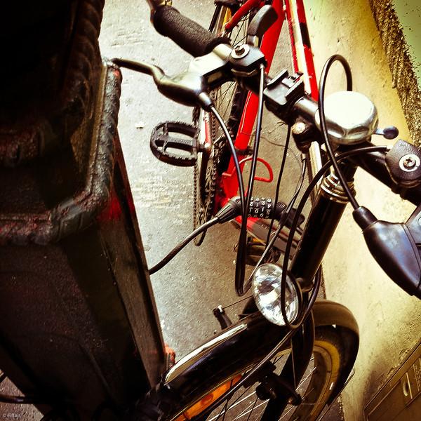 319 - Le petit vélo rouge