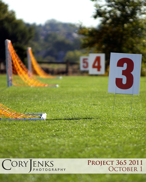 Project 365: October 1 - Pitches. To all those families that spend time out on the soccer pitch. Well done!