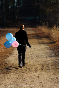 Our boys were born one year ago today. Tragically their lungs were not yet developed and we lost them. We took them balloons today to remember their birthday. One for each of them and one to represent the little boys and girls our friends have lost. We like to think they've found each other and are playing together now.
