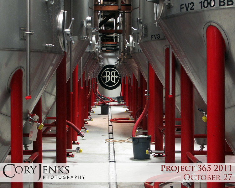 Project 365: October 27 - Magic Kettles. The brew vats at Breckenridge Brewery during the Denver Brews Cruise.