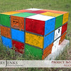 Project 365: August 9 - Rubik's Box. Is graffiti vandalism or art? In my world it's both.