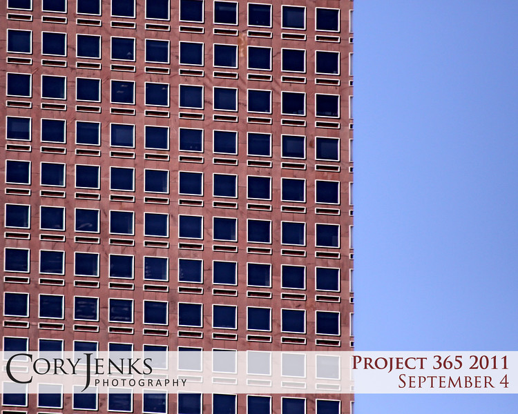 Project 365: September 4 - Stories. Do you see how many stories there are in the office building? Or do you see how many stories there are behind each window?