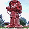 "Project 365: August 24 - Hydrant. You've heard the saying, ""some days you're the windshield, some days you're the bug."" Well some days you could be the dog, while others you could be the fire hydrant."