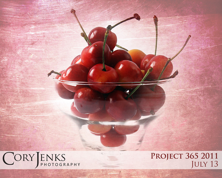 Project 365: July 13 - Cultivar. The rainier cherry is a cultivated variation derived from the bing cherry and van cherry.