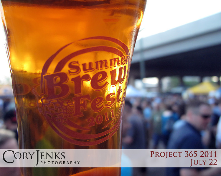 Project 365: July 22 - Brewski. What better way to spend a hot July evening than sampling 145 different micro-brews from Colorado's best craft breweries!