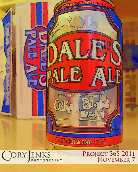 Project 365: November 7 - Brew. Some Mondays just call for a cold brew, and Dale's Pale Ale is a tasty local one.