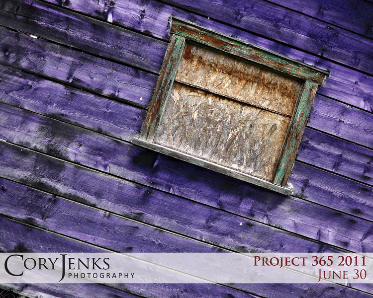 Project 365: June 30 - The Barn Formerly Know as Prince. If you are going to have a barn, why not a purple one?