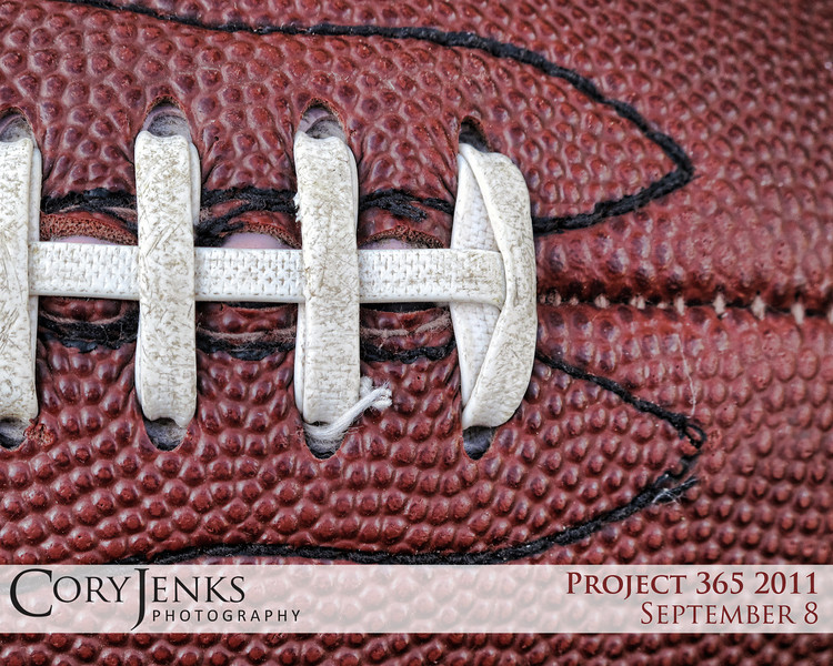 Project 365: September 8 - Pigskin. Are you ready for some football?