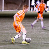 "Project 365: January 29 - Friendlies. Start of the ""spring"" soccer season in the cool evening air of Colorado in January. Brrrrrrr."