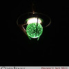 Project 365: November 16 - Emerald. Not all light fixtures are created equal.