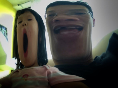 Having fun with Photobooth