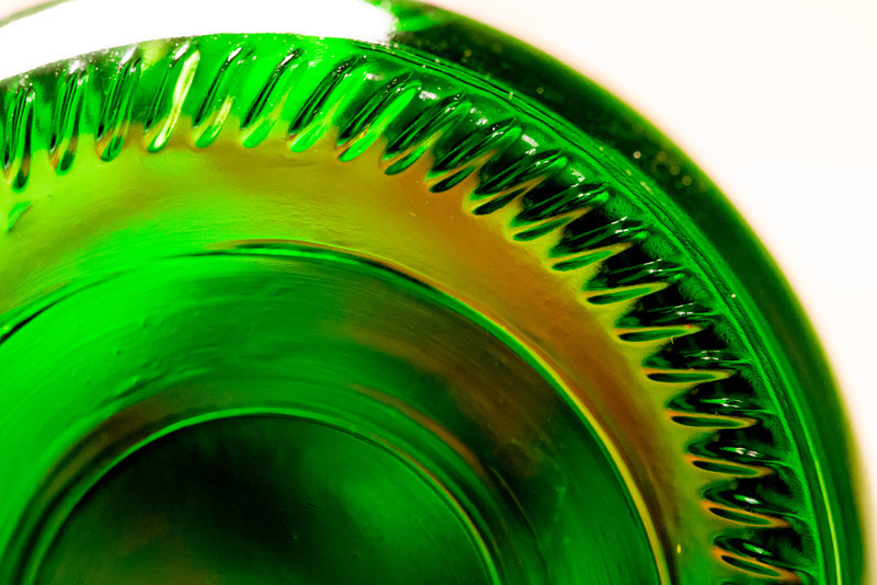 G is for Green Glass
