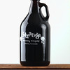 "Project 365: November 18 - Growler. The first growler I've purchased and the inaugural beer is the ""Cherry Bomb Belgian Stout"" from Strange Brewing."