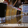 Project 365: January 8 - Flight of the Craft Brews. A nice sized taster flight at The Old Mill Brewery and Grill in Littleton, CO. Many flavored beers, but sadly no IPA on tap.