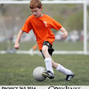 Project 365: May 3 - End of Season. Colton played his last soccer game this spring season, making strides with his ball handling skills and overall field awareness.