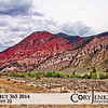 Project 365: August 22 - Red Cabin Under the Red Mountain. I have driven by this spot a hundred times, I knew this trip I would stop and take a photo. Much love for Colorado!