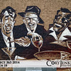 Project 365: March 18 - The Rat Pack. A little graffiti art on the side of a restaurant downtown on Broadway.