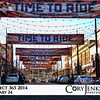 Project 365: January 24 - United in Orange. The town definitely loves the Broncos. Larimer Street is all decked out in support of the Broncos.