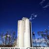 Project 365: March 28 - Sugar Silo. Longmont's sugar factory silo and the deep blue Colorado sky. Brilliant!