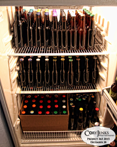 Project 365: December 28 - Hobby. It appears my home brew hobby is in full swing.