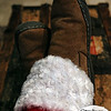 Project 365: December 25 - Santa's Helping Hand 25.<br /> <br /> Santa finally gets to put his feet up and relax after a long night of traveling all around the world. Merry Christmas to everyone!
