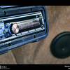 Project 365: September 24 - Tunes. The Squareback has tunes! Spent a little time yesterday running wires and today making custom kick panels to house speakers and installing the Alpine stereo.