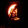 Project 365: October 30 - Hooty Hoo. The pumpkin is carved...