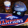 Project 365: February 9 - Celebration Continues. Eleven days ago I said it was a banner year and ready for another championship. Thirteen days ago I said it was time to add a championship hat to the collection. Of course, might as well add a pint glass. Done and done! Go Broncos!