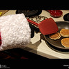 Project 365: December 1 - Santa's Helping Hand #1. This is the first in the 2016 series of Santa's Helping Hand.<br /> <br /> Santa helps cook pancakes for the official Elf Breakfast held on the first day of December every year.