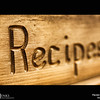 Project 365: November 22 - Recipes. It's that time of year when the family recipes come out and great feasts are shared with friends and family.
