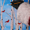 "Project 365: December 15 - Santa's Helping Hand #15.<br /> <br /> Santa helps lead the annual North Pole ""paint 'n' sip"" winter scene painting party. Should start calling it the chug 'n' splatter after seeing some of the elves' paintings."