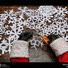Project 365: December 13 - Santa's Helping Hand #13.<br /> <br /> Santa helps cut out paper snowflake decorations for the upcoming North Pole Christmas Ball.