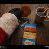 Project 365: December 25 - Santa's Helping Hand #25.<br /> <br /> Santa relaxes and plans his vacation after a busy Christmas season. Santa wishes everyone a very merry Christmas and a happy New Year.