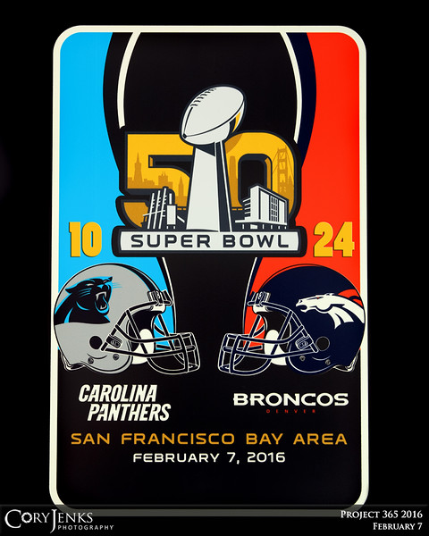 Project 365: February 7 - Champions. What an awesome display of defensive power. Broncos bring home the Lombardi Trophy from Super Bowl 50. Great to be a Broncos fan!
