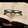Project 365: November 9 - Optics<br /> <br /> Always have enjoyed getting lost in a book as a way to relax, only now I need some assistance to see my way.