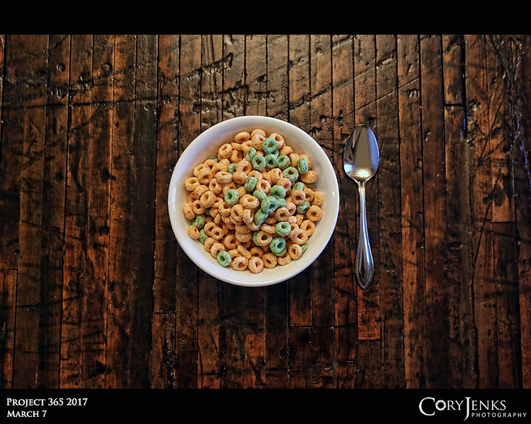 Project 365: March 7 - Cereal Day<br /> <br /> It's National Cereal Day.