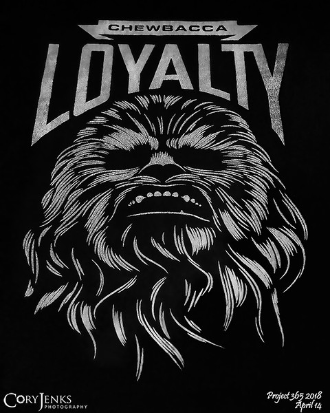 """2018 Project 365: April 14 - Loyalty<br /> <br /> """"Respect is earned, Honesty is appreciated. Trust is gained. Loyalty is returned.""""<br /> <br /> ~ Auliq Ice"""