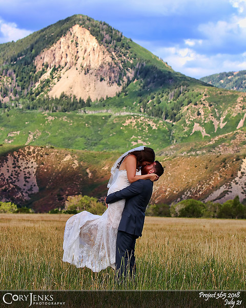 2018 Project 365: July 21 - Nikki and Ethan<br /> <br /> Beautiful Colorado wedding. Congratulations to Nikki and Ethan. Wishing you both a lifetime of the greatest joy, love, and happiness.