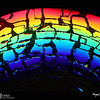2018 Project 365: August 15 - Abstract Rainbow<br /> <br /> Extra points if you can identify the item photographed and what was done to the item.