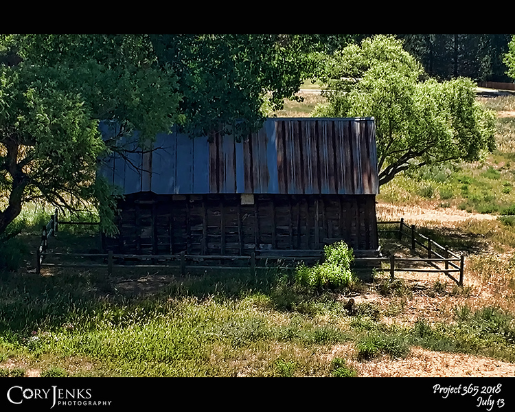 "2018 Project 365: July 13 - Aged Barn<br /> <br /> ""Youth is the gift of nature, but age is a work of art.""<br /> <br /> ~ Stanislaw Jerzy Lec"