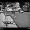 2018 Project 365: June 26 - Subtle Signs<br /> <br /> Sometimes through life's journey, one can receive subtle signs. And, if you are tuned into those signs, you can make subtle adjustments or choices on how to proceed or what should be the next step. Finding an empty shopping cart in my neighborhood across the street from my house could be one of those signs.