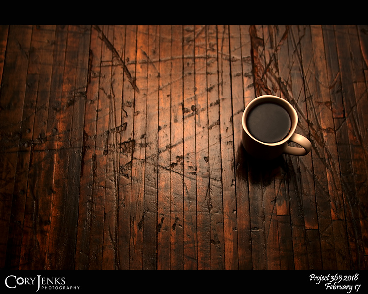 """2018 Project 365: February 17 - Coffee <br /> <br /> """"The powers of a man's mind are directly proportional to the quantity of coffee he drank.""""<br /> <br /> ~ Sir James MacKintosh"""