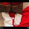 2018 Project 365: December 25 - Santa's Helping Hands #25<br /> <br /> With an empty sack of gifts, Santa hangs up his coat and gloves for the next 11 months. Merry Christmas to all.