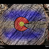 2019 Project 365: March 4 - Colorado Stump<br /> <br /> Saw the Colorado flag resembled in this stump, so I thought I would enhance what I saw a little.