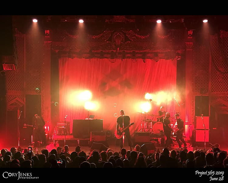 2019 Project 365: June 28 - Blue October<br /> <br /> Blue October put on a great show at the Ogden.