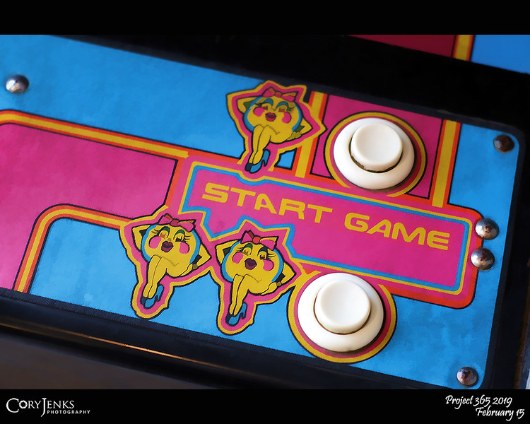 2019 Project 365: February 15 - Old School<br /> <br /> Not to many of original arcade games still around.