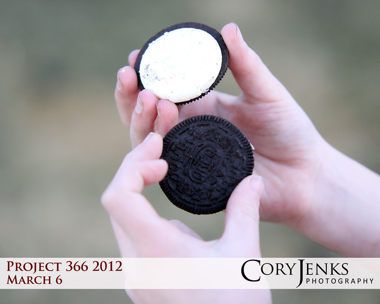 Project 366: March 6 - CentOREO. The world's greatest cookie turns 100 today. Happy birthday Oreo, you look dang good!