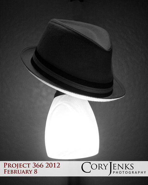 Project 366: February 8 - Noir. A modest attempt at a little hard-boiled crime feel with hints of Raymond Chandler's Philip Marlowe or Dashiell Hammett's Sam Spade.