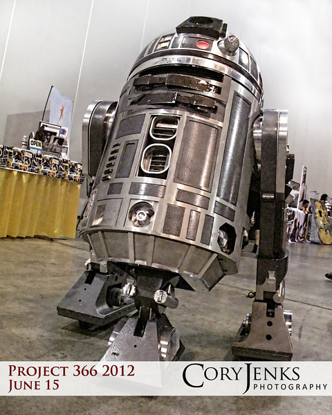 Project 366: June 15 - Droid. Attended the Denver Comic Con and witnessed all things Star Wars, Comic Book, and geeky.