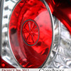 Project 366: August 11 - Tail Light. On a slow day looking for something to fill in for a photo, this tail light with the contrast of red lens and clear caught my eye.